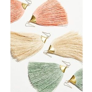 NWT Tassel Earrings